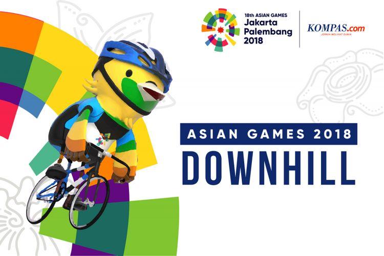 Desain Asian Games Downhill