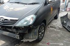 Ngebut, Pengendara Moge Tabrak Mobil Satpol PP dan 3 Motor di Puncak Bogor Saat Konvoi