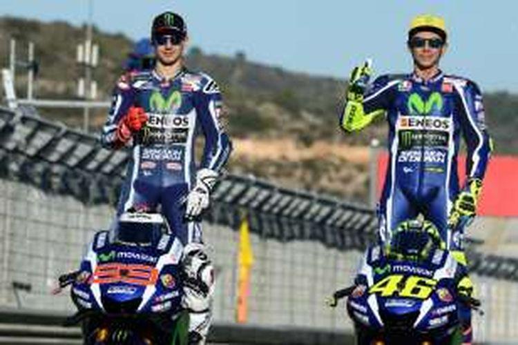Rossi Hanya 3 Kali Kalah Dari Rekan Satu Tim Di Motogp Halaman All Kompas Com