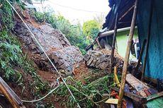 Hujan Seharian di Sukabumi, 4 Rumah Rusak Diterjang Longsor