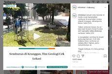 KLHK Uji Kandungan Semburan Air Campur Lumpur di Bekasi