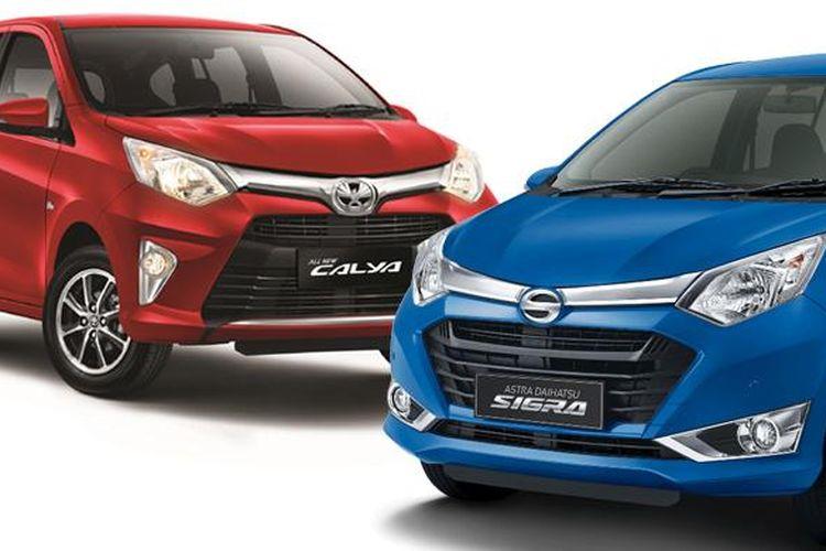 Astra Toyota Calya dan Astra Daihatsu Sigra berpotensi mengusik pasar Avanza-Xenia bekas.