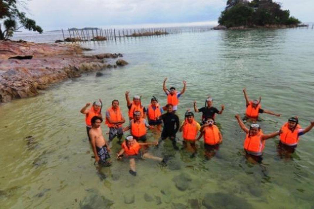 travel - pulau petong, wisata batam