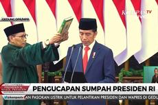 Pelantikan Presiden, MPR Apresiasi Kinerja Jokowi-JK dalam 5 Tahun Terakhir