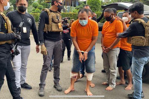 Lawan Polisi dengan Badik, Dua Anggota Geng Pandawa Ditembak di Kedua Kakinya