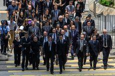 Dukung Unjuk Rasa Anti-Pemerintah, Ratusan Pengacara Hong Kong Turun ke Jalan