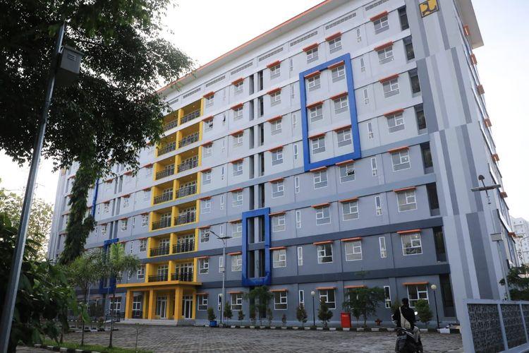 Rusun milik Kementerian PUPR yang berada di Kelurahan Sumurboto, Banyumanik, Kota Semarang