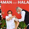 Jokowi Disuntik Vaksin Covid-19 Dosis Kedua di Lengan Kiri