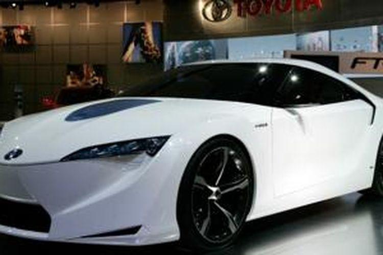 Calon generasi terbaru Supra, Toyota FT-HS Hybrid Sports Concept debut di North American International Auto Show 2007