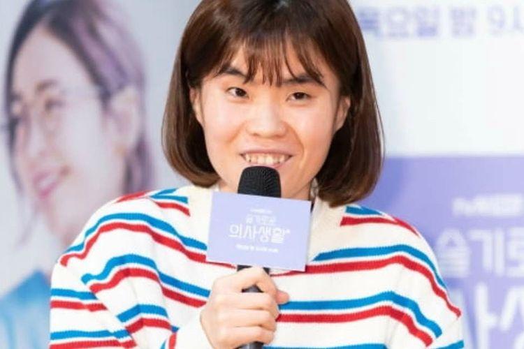 Komedian asal Korea Selatan Park Ji Sun