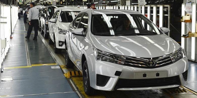 Pabrik Toyota yang ada di Turki.