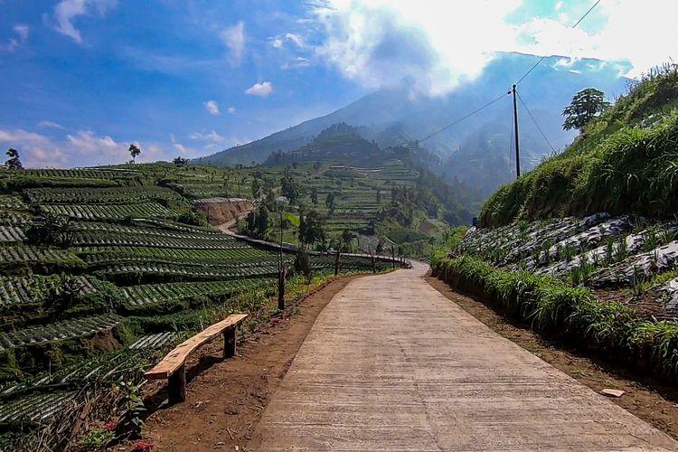 Tol Kahyangan di Kecamatan Sawangan, Magelang, Jawa Tengah.