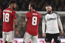 Derby County Vs Man United, Saat Rooney Jadi Lawan dan Ancam via Tendangan Bebas