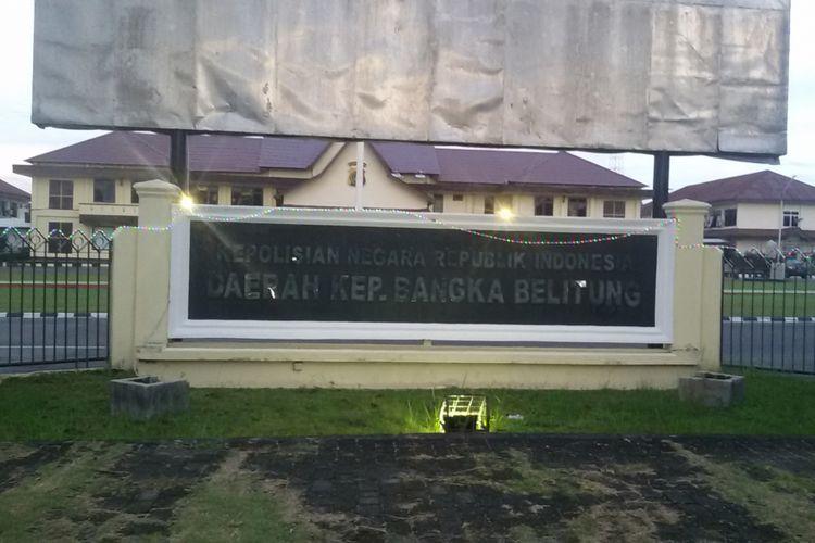 Mapolda Kepulauan Bangka Belitung.