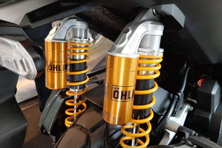 Sokbreker belakang aftermarket untuk Honda ADV 150