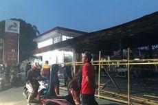 Pom Bensin di Cipayung yang Terbakar Tutup Sementara