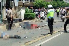 Pengemudi Ojek Lihat Pelaku Lemparkan Ransel yang Meledak di Dekat Sarinah