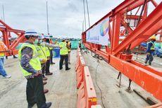 Jembatan Ikon Bandara Internasional Soekarno-Hatta Tembus Topping Off
