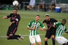 Hasil Real Betis Vs Real Madrid, Los Blancos Menang Berkat Penalti Ramos