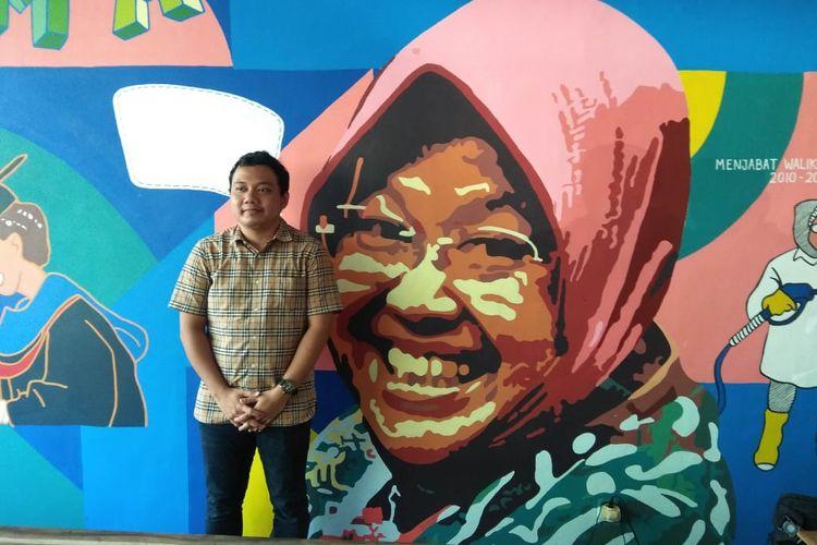 Fuad Bernardi, putra sulung Wali Kota Surabaya Tri Rismaharini siap dicalonkan jadi Wakil Wali Kota Surabaya pada Pilkada Surabaya 2020.