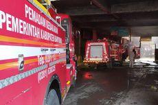 Detik-detik Pasar Wage di Purwokerto Terbakar, Ratusan Pedagang Panik Selamatkan Dagangan