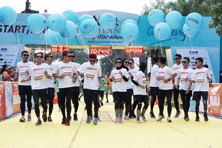 Acara Highlands Half Marathon, Minggu, 29 September 2019 dengan venue utama di Taman Budaya, Sentul City, Kabupaten Bogor, Jawa Barat.