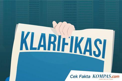 [KLARIFIKASI] Foto Jokowi Kunjungi Kabupaten Hulu Sungai Tengah