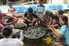 Sungai Musi Surut, Warga Ramai-ramai Berburu Remis