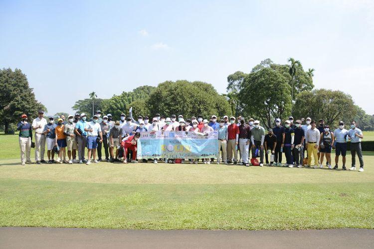 Comedy Golfer bekerja sama dengan Gentle Golf mengadakan event His Erha Bogey Wonderland yang diadakan pada Minggu (30/5/2021) di Pondok Cabe Golf & Country Club.