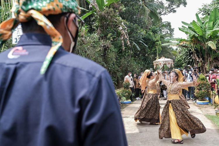 Desa Wisata Cikolelet di Kabupaten Serang, Banten.