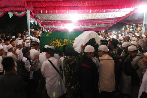 Lantunan Zikir Ribuan Pelayat Iringi Pemakaman Ustaz Arifin Ilham