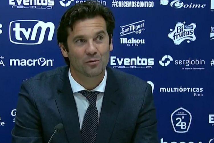 Pelatih sementara Real Madrid, Santiago Solari