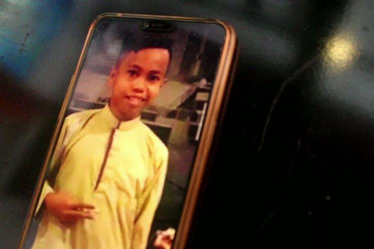 Mohamad Khairuddin (13), seorang anak yang kini sedang dalam penyenderaan kelompok teroris Abu Sayyaf