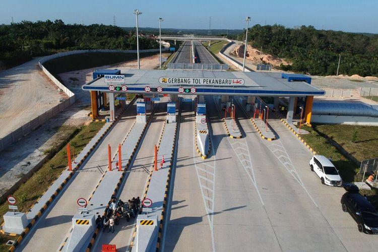 Gerbang Tol Pekanbaru-Dumai (Permai).
