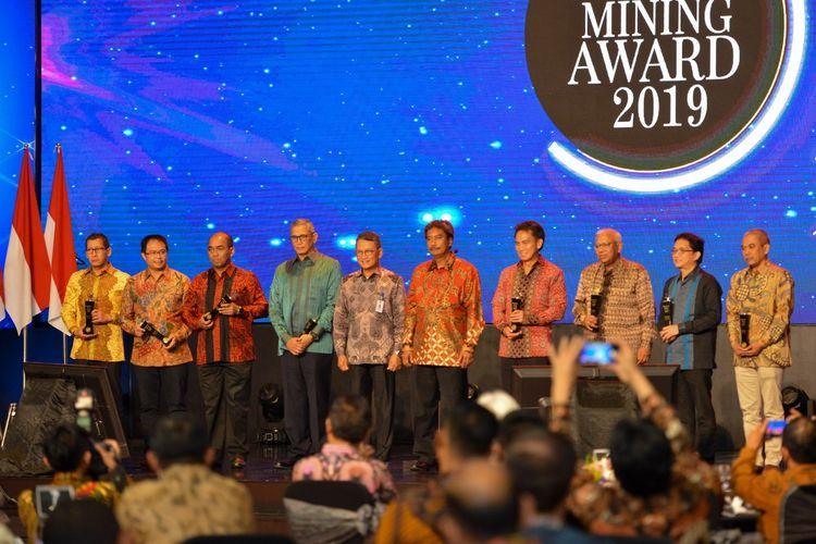 IMA Awards 2019 oleh Asosiasi Pertambangan Indonesia.