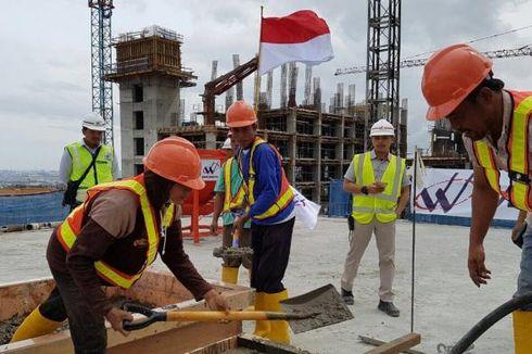Kejar Target Agustus 2017, Konstruksi Wisma Atlet Kemayoran Dikebut