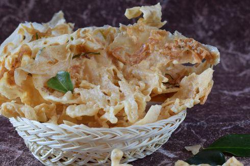 Resep Peyek Rebon Daun Jeruk yang Tipis dan Renyah Tahan Lama