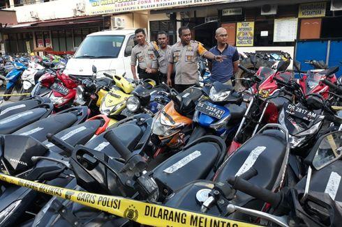Geledah Rusunawa Uncen Papua, Polisi Amankan 39 Motor Hasil Curian