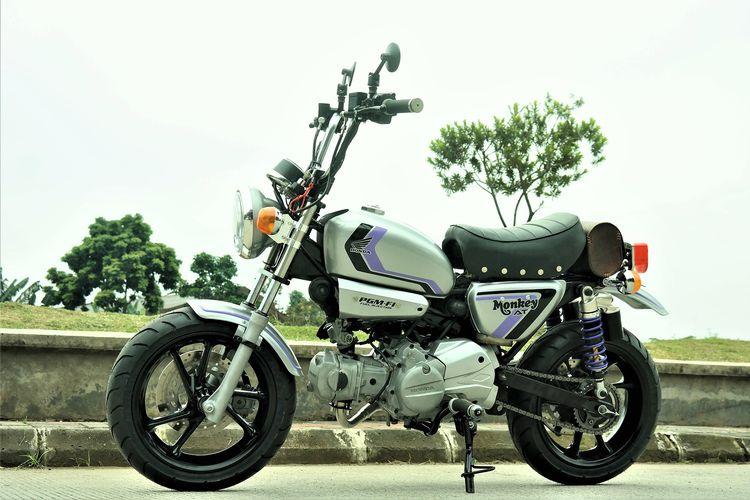 Honda Revo AT dimodifikasi menjadi Honda Monkey