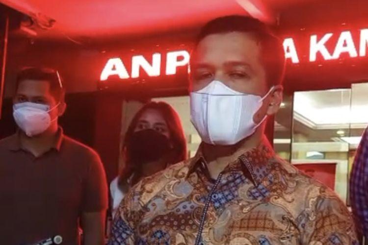 Kepala Satuan Reserse Polres Metro Jakarta Selatan, Kompol Achmad Akbar memberikan keterangan pers setelah memeriksa sosok perempuan yang mengunggah video di media sosial mengenai dugaan praktik pesugihan di Pondok Indah, Jakarta Selatan, agar tidak menimbulkan keresahan masyarakat.
