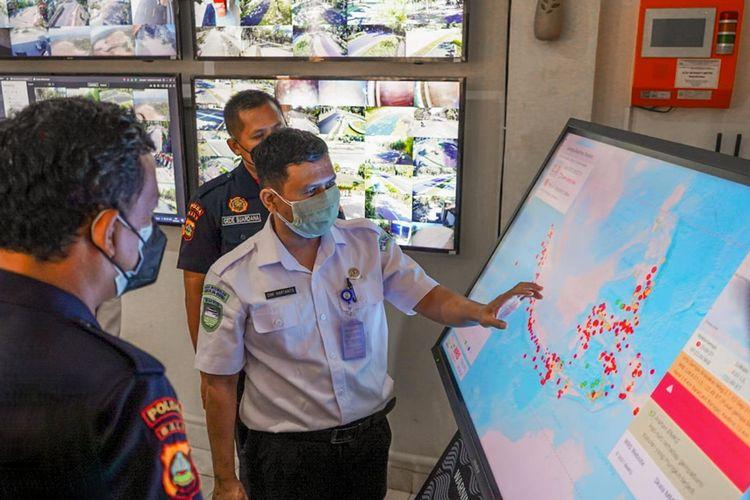 ITDC bekerja sama dengan BMKG Pusat mengaktifkan Warning Receiver System (WRS) di Kawasan Pariwisata The Nusa Dua Bali