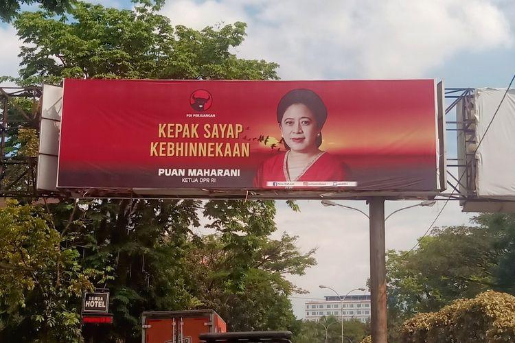 Partai Demokrasi Indonesia Perjuangan (PDIP) memastikan baliho Puan Maharani telah terpasang di 27 kabupaten kota di Jawa Barat.