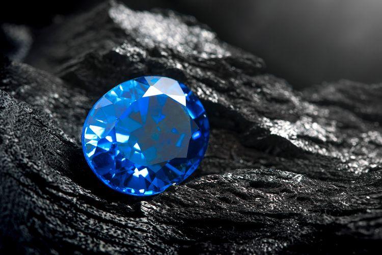 Ilustrasi batu safir