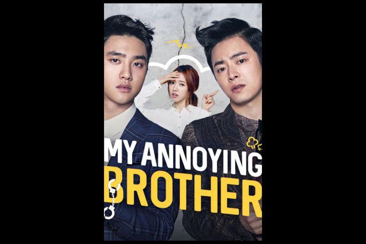 Poster film My Annoying Brother (2016), Jo Jung Suk, Park Shin Hye dan D.O EXO. Tayang 24 Oktober di VIU