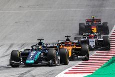 Sprint Race Formula 2 Hungaria, Sean Gelael Urutan 12