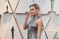 'Captain Marvel' Tampil Silver di Karpet Merah Oscar 2019