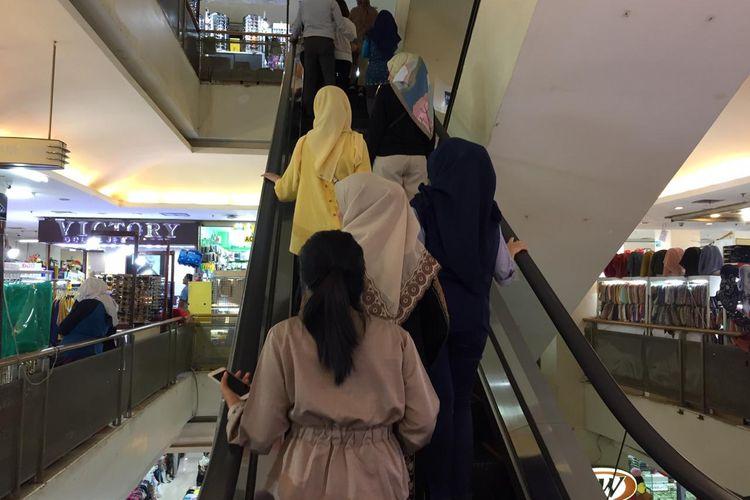 Suasana ITC Kuningan Jakarta, Kamis (4/7/2019).