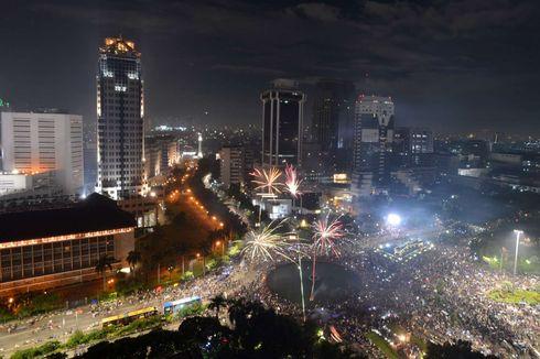 Malam Tahun Baru, Sejumlah Ruas Jalan di Jakarta Dialihkan