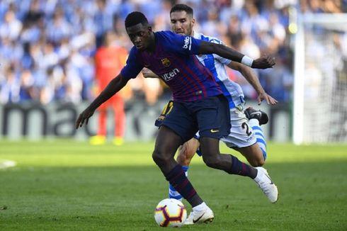 Kata Barcelona soal Potensi Ousmane Dembele ke Man United