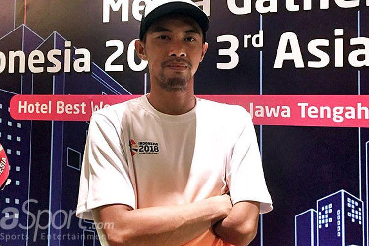 Setyo Budi Hartanto, atlet lompat jauh difabel Indonesia kelas T47 putra.